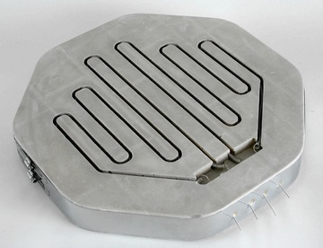 8 SIDED LID WITH GROOVES