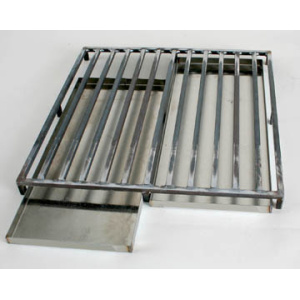 WAX TRAY AND GRATE, W18, 17″ x 17″ GRATE, 2 TRAYS